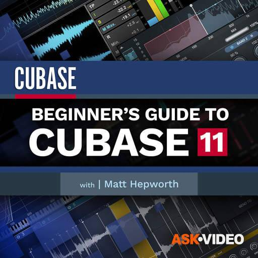 Cubase 11 Beginners Guide TUTORiAL